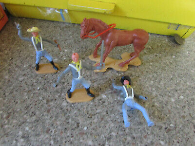 Small Colletion Of Vintage Cherilea Toys Swoppet Cavalry Toy Soldiers  • 4.76£