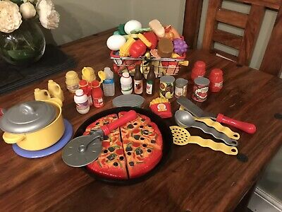 Childrens Toy Food And Till • 15£