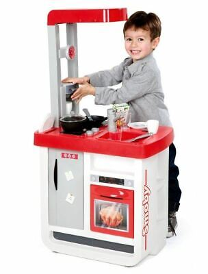 Smoby Tefal Bon Appetit Kids Role Play Mini Kitchen Chef Childrens Cooker Toy • 44.95£