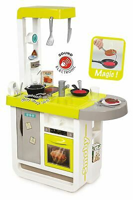 Cherry Childrens Kitchen Set Smoby Toy Kids Electronic Cooker With Accessories • 59.95£