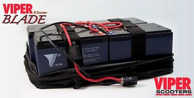 Electric Scooter Lead Acid Battery Pack 48V 12Ah, Viper Blade • 140£