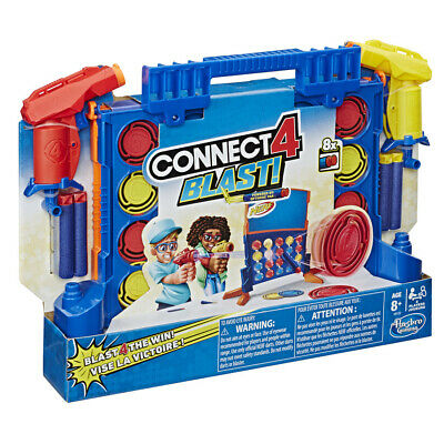 Connect 4 Blast Meets Nerf Kids Game • 18.99£