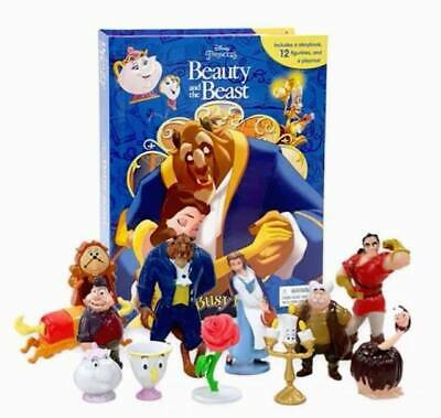 Disneys Beauty And The Beast Busy Book - Story 12 Figures And A Playmat Uk Stock • 12.99£