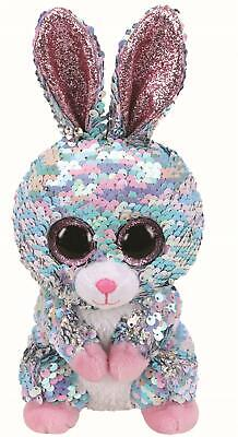 Ty Beanie Flippables 36357 Raindrop The Blue And Pink Bunny Flippable Regular • 9.95£