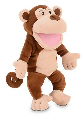 Monkey Puppet By Fiesta Crafts - Moving Mouth And Arms • 17£