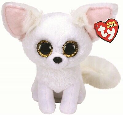 Ty Beanie Boos 36481 Phoenix The White Fox Boo Medium • 9.99£
