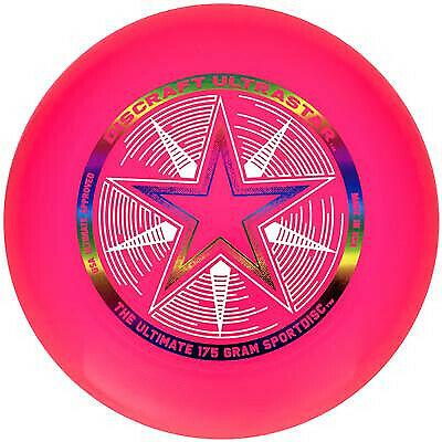 Discraft Frisbee 175g Ultra Star Sports Disc Pink • 10.95£