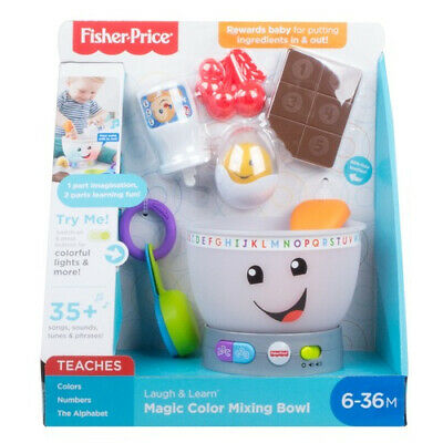 Fisher Price Laugh & Learn Magic Colour Mixing Bowl • 22.99£