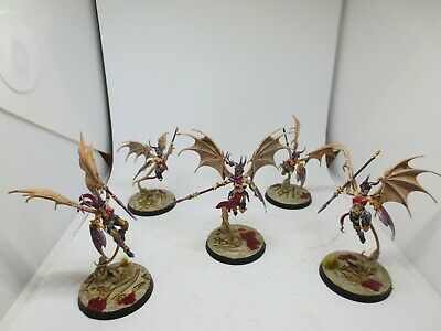 Warhammer Daughters Of Khaine Khinerai Heartrenders X5 Well Painted AOS G222 • 39.99£