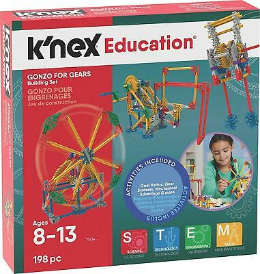 Knex Gonzo For Gears Model Construction Set - 198 Piece Childrens Building Kit • 9.99£