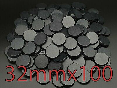 32mm X 100 Pcs Round Plain Plastic Bases Warhammer AOS Infinity Brand New  • 13.49£