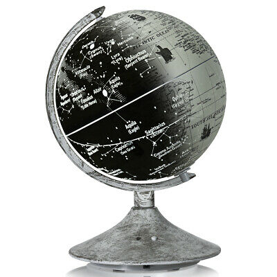 Illuminated World Globe Interactive Educational Desktop Globe Light UP Kids • 27.99£