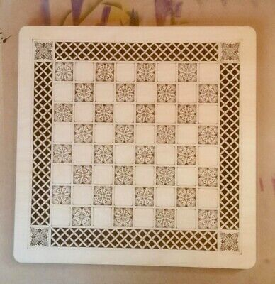 Chess Droughts Board Large Made To Order 450mm X 450mm. Squares 35mm • 30£