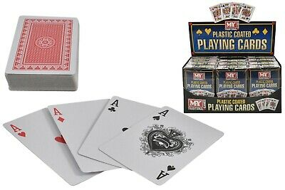 Plastic Coated Playing Cards • 1.89£