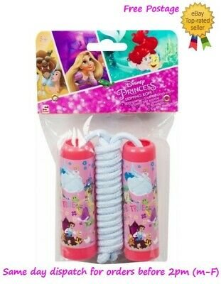 Kids Childrens Skipping Rope Jumping Rope Official Disney Princess Character • 5.49£