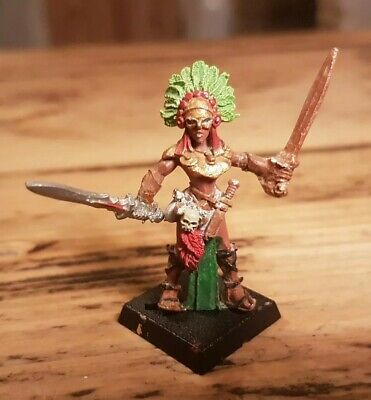 Warhammer Fanyasy Mordheim Amazon Warrior Champion * Metal * OOP * Painted *  • 13.99£