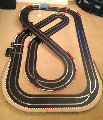 Scalextric Sport Large Layout With Lap Counter & Hairpin & 2 Cars • 195£