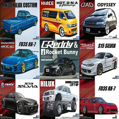 Aoshima Plastic Model Car Kits Series 1/24 UK • 59.99£