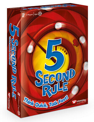 5 Second Rule Game NEW Version 2020 • 11.99£