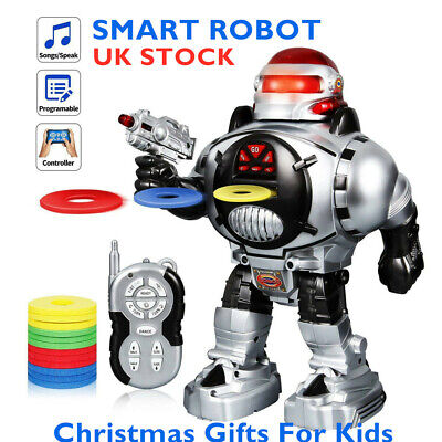 Kids Funny Robot Toy Remote Control Interactive Walks Talks Dance Xmas Gift UK • 17.99£
