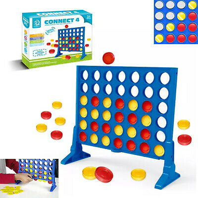Four-In-A-Row Connect 4 In A Row Plastic Indoor Table Game Outdoor Party Toy  • 6.90£