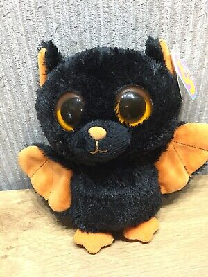 TY Beanie Boos Plush Soft Toy Teddy Collectable Brand New Rare Midnight Bat • 29.95£