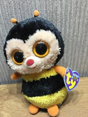 TY Beanie Boos Plush Soft Toy Teddy Collectable Brand New Rare Sting Bee • 24.95£