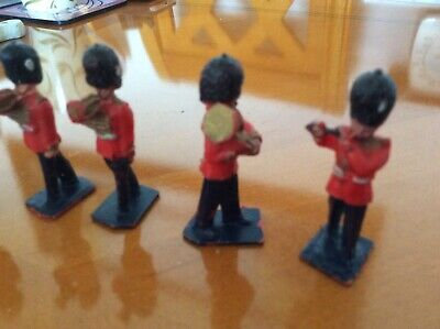 Rs02..5 X Soldier Band Members With Instruments Lone Star Harvey Series...£29.99 • 29.99£
