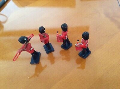 RS01..4 X SOLDIER BAND MEMBERS WITH INSTRUMENTS LONE STAR HARVEY SERIES...£29.99 • 29.99£