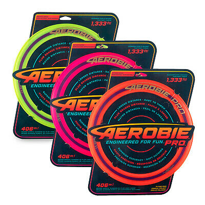 Aerobie Pro 13  Flying Ring (Various Colours) FREE DELIVERY - BRAND NEW • 12.49£