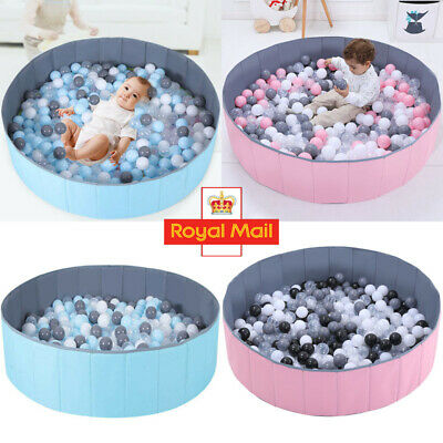 Foldable Kid Game Play Toy Tent Ocean Ball Pit Pool Children Baby Indoor Playpen • 17.96£