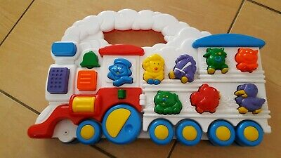 Vintage Chicco Animal Train  Electronic  Sounds Toy From 1994 • 7.99£