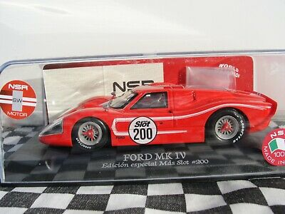 Nsr  Ford Mk Iv  'slot 200'  Red   0091sw  1:32 Bnib  • 59.99£