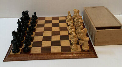 Vintage Wooden Chess Set • 69.95£