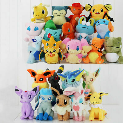 Pokemon Collectible Plush Character Soft Toy Stuffed Doll Teddy Gift • 4.98£