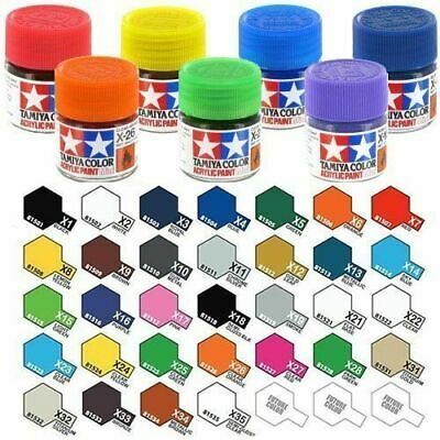Tamiya Gloss Acrylic Paints X1 - X35 Model Paint 10ml Jars  • 3.99£
