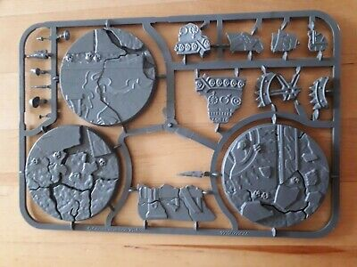 Citadel Shattered Dominion 3 X 65mm Round Bases + Base Details • 3.99£