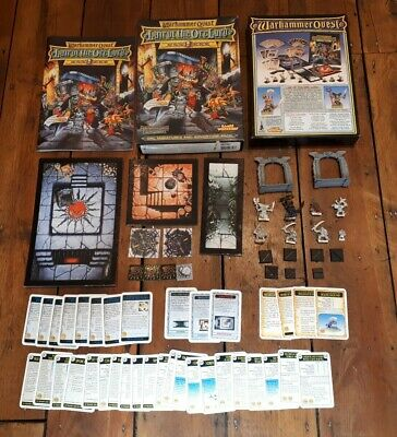 Warhammer Quest Lair Of The Orc Lord Expansion Pack * Boxed * Complete * OOP * • 239.99£