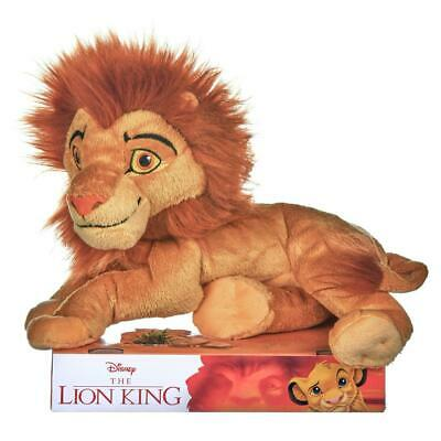 Disney Lion King Simba Adult 25cm / 10  Soft Plush Toy • 9.99£