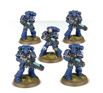 Warhammer 40k Space Marine Know No Fear Primaris Hellblaster (5) NEW • 13.45£