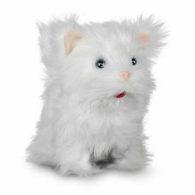 Cute Kitten Talking And Moving Interactive Plush Soft Toy Cat - Meows And Moves • 15.99£