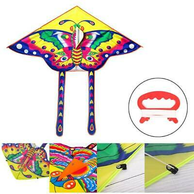 Butterfly Kites Kids Toy Outdoor Flying Activity Game 90*50cm Kite With 15M Line • 3.94£