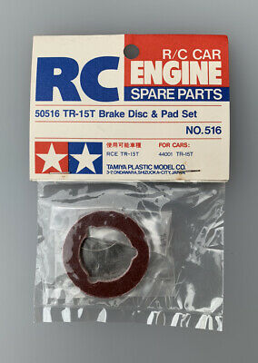 Tamiya TR-15T Brake Disc & Pad Set, (#50516) TGX • 19.99£