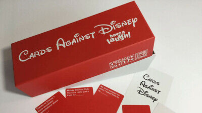 Cards Against Disney Your Childhood Table 828 Card Games Adult Party Game Box • 19.95£