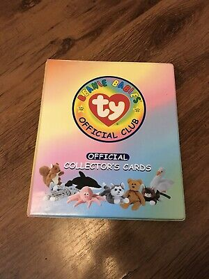 Beanie Baby Ty Series 1 135 +Cards & Folder Including Puzzles • 9.99£