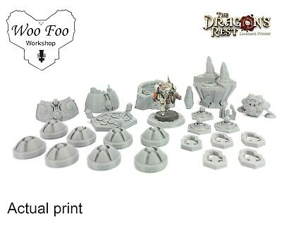 Blackstone Fortress Deadly Alliance Expansion 3D Printed Terrain Dragons Rest • 17£
