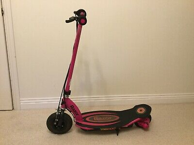 Kids Razor Electric Scooter, E100, Pink, 8+, Excellent Condition, With Charger • 33£