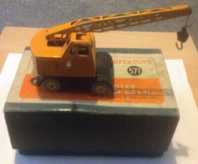 Dinky Supertoys 571 Coles Mobile Crane Fully Working  • 75£