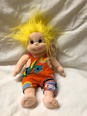 Jammer Ty Beanie Kids Kid Doll Yellow Hair New With Tags • 5.99£