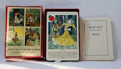 Vintage Fairy-Tale Playing Cards No.1 - Boxed • 14.99£